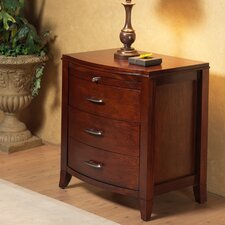 Brighton 2 Drawer Nightstand with Power Charging Outlet