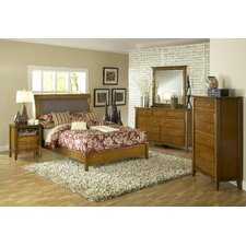 <strong>Modus Furniture</strong> City II Sleigh Bedroom Collection