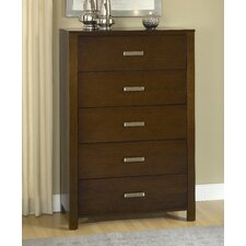<strong>Modus Furniture</strong> Riva 5 Drawer Standard Chest