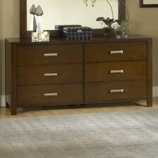 <strong>Modus Furniture</strong> Riva 6 Drawer Standard Dresser