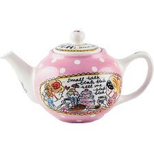 Small Talk Tea Pot