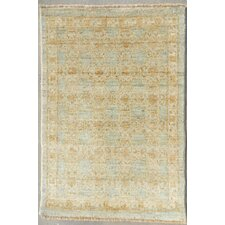 <strong>Rugs by Rizwan</strong> Contemporary Blue Oriental Rug