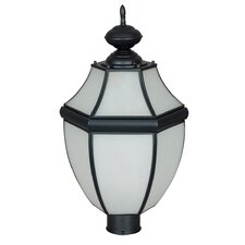 "1 Light 12"" Outdoor Post Lantern"