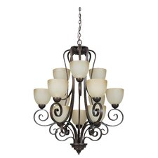 Provano 12 Light Chandelier