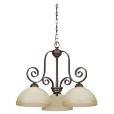 Provano 3 Light Chandelier