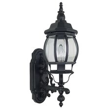 <strong>Sunset Lighting</strong> French 1 Light Outdoor Wall Lantern