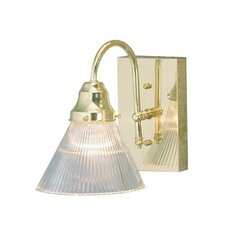 <strong>Sunset Lighting</strong> 1 Light Bath Vanity Light