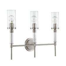 <strong>Sunset Lighting</strong> Cosmopolitan 3 Light Wall Sconce