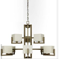 <strong>Sunset Lighting</strong> Akimbo 9 Light Chandelier