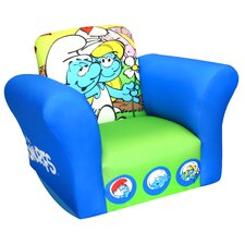 <strong>Newco Kids</strong> Sony Smurfs Love Small Standard Kid's  Rocking Chair