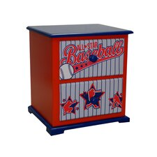 <strong>Newco Kids</strong> Baseball All Star Nightstand