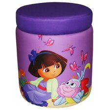 <strong>Newco Kids</strong> Dora the Explorer Picnic Kids Storage Ottoman