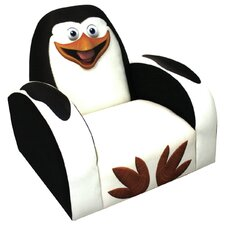 Madagascar Penguin Kids Novelty Chair