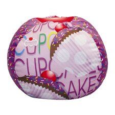 Cup Cake Bean Bag Chair