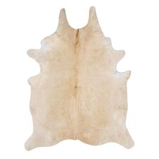 Natural Cowhide Wheat Rug