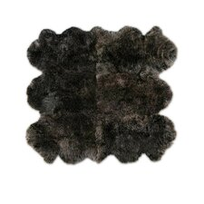<strong>Pure Rugs</strong> Patagonia Sheepskin Organic Brown Raccoon Rug