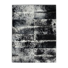 <strong>Pure Rugs</strong> Patchwork Cowhide Oak Grey Freckles Rug