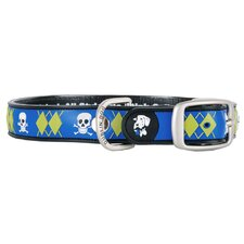All Style Argyle Mutiny No Stink Dog Collar