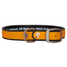 All Style Simply Solid Hunter Orange No Stink Dog Collar