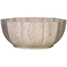 Large Marble Fruit Bowl