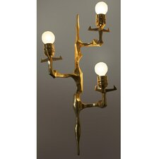 3 Light Bronze Sconce