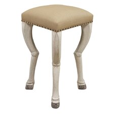 <strong>Noir</strong> Clara Bar Stool with Cushion