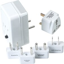 Worldwide Adaptor Plug Kit and Convertor