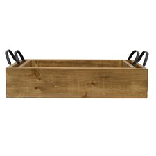 Pine Wood Serving Tray (Set of 2)
