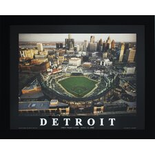 Detroit Baseball Photographic Print