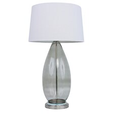 "34"" H Table Lamp with Drum Shade (Set of 2)"