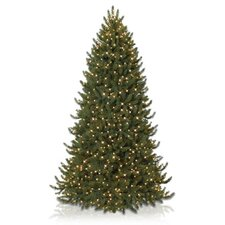 Vermont Signature 9' White Spruce Narrow Artificial Christmas Tree