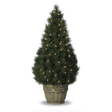 Classics 3' Potted White Pine Artificial Christmas Tree