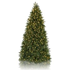 Classics 7' Park Avenue Corner Artificial Christmas Tree