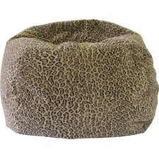 Animal Skin Bobcat Safari Bean Bag Chair