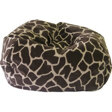 Animal Skin Giraffe Safari Bean Bag Chair