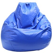 Tear Drop Wet Look Bean Bag Lounger