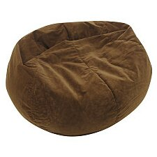 Sueded Bean Bag Chair