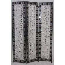 Venezia Decorative Room Partition in Black