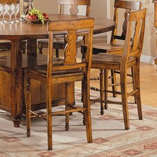 Tuscany Counter Height Barstool in Distressed Rustic Tuscany