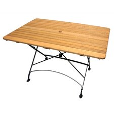 Rebecca Folding Rectangular Table