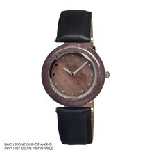 Purple Stone Women's Watch