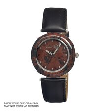 Coffee Jasper Unisex Watch