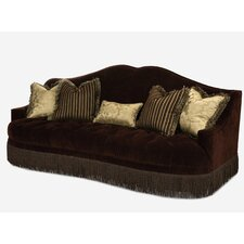<strong>Michael Amini</strong> Imperial Court Tufted Sofa