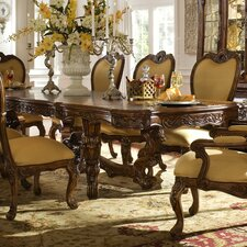<strong>Michael Amini</strong> Palais Royale 9 Piece Dining Set