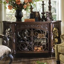 Essex Manor Console Table in Deep English Tea