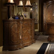 <strong>Michael Amini</strong> Cortina 3 Drawer Combo Dresser