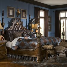 <strong>Michael Amini</strong> Sovereign Four Poster Bed