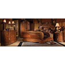 <strong>Michael Amini</strong> Cortina Sleigh Bedroom Collection