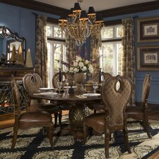 <strong>Michael Amini</strong> Sovereign 7 Piece Dining Set