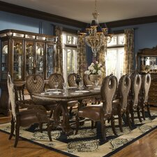 <strong>Michael Amini</strong> Sovereign 11 Piece Dining Set